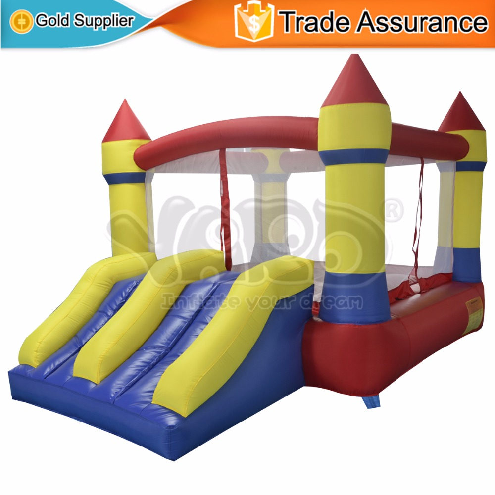 YARD Hot Sell Inflatable Toys Bouncy Castle with Slide Jumping House for Kids Birthday Party(China (Mainland))