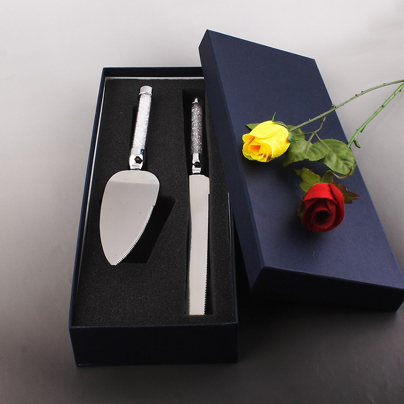 Buy 2016 Real Cookie Cutter Mold Fondant Cake Knife And Server Set Stainless Steel 304 Good Quality Wholesale Personalized Factory cheap