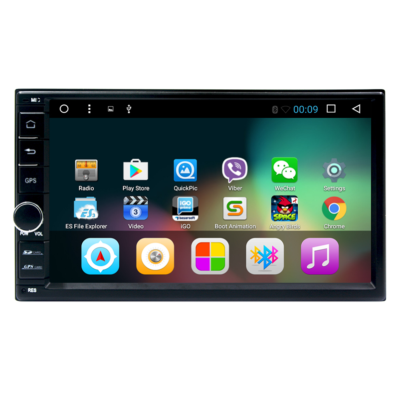 7 Inch Android 6.0 Double Din Car DVD Player universal 2 din car cassette player gps navigaton system with usb/map/bluetooth(China (Mainland))