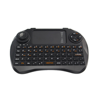 2 4GHz Mini QWERTY Wireless Keyboard X3 All in One Remote Controller Air Mouse with Touchpad