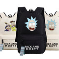 New Rick and Morty Backpack Anime bags Student oxford Schoolbags AS Gift