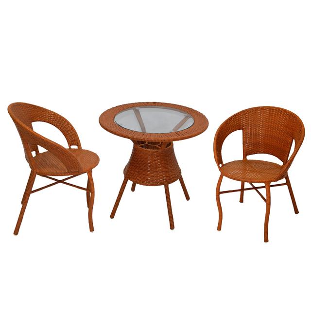 Casual Rattan Coffee Table: Casual Rattan Chairs Dinette Balcony Modern Minimalist