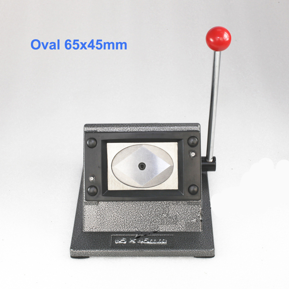 Oval Paper Cutter Stand Paper Graphic Cutter