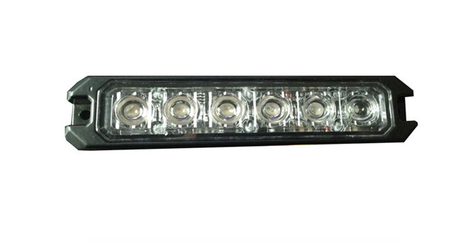 3W leds Red, low profile the brightest ,fashion warning lighthead (B6/c4) free shipping(China (Mainland))