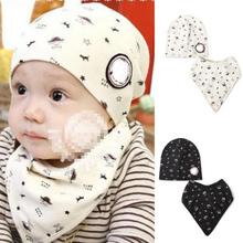 Baby Bibs Hat Boys Girls Saliva Towel Toddler Bandana Triangle Head Scarf Cute Wholesale