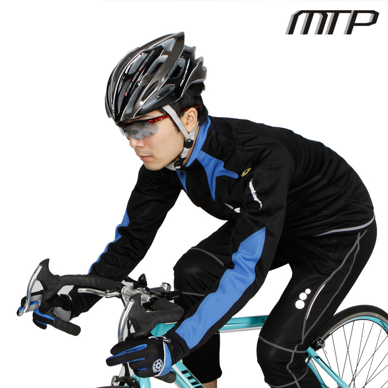 2015 new Autumn/winter three-layer composite fleece long sleeve bike Jersey suits men and women clothing cycling jacket pants<br><br>Aliexpress