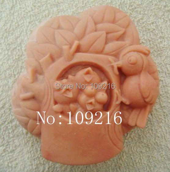 wholesale!!!1pcs The Song of Happiness (zx602) Silicone Handmade Soap Mold Crafts DIY Mould(China (Mainland))
