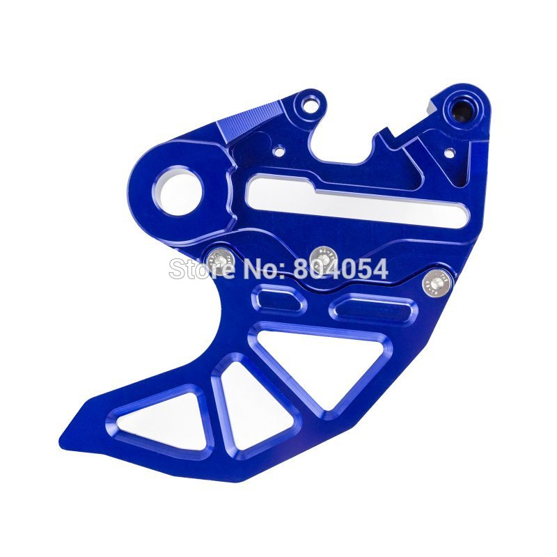 Фотография Rear Brake Disc Guard and Brake Caliper Support  For KTM 125-530 SX EXC 2004-2015 Blue