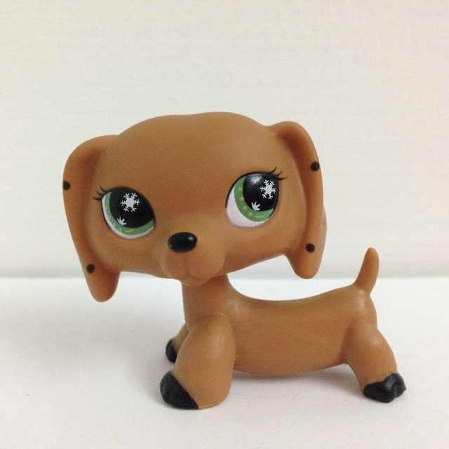 LITTLEST PET Животных Коллекция Рисунок Девушка Собака Такса DWA359