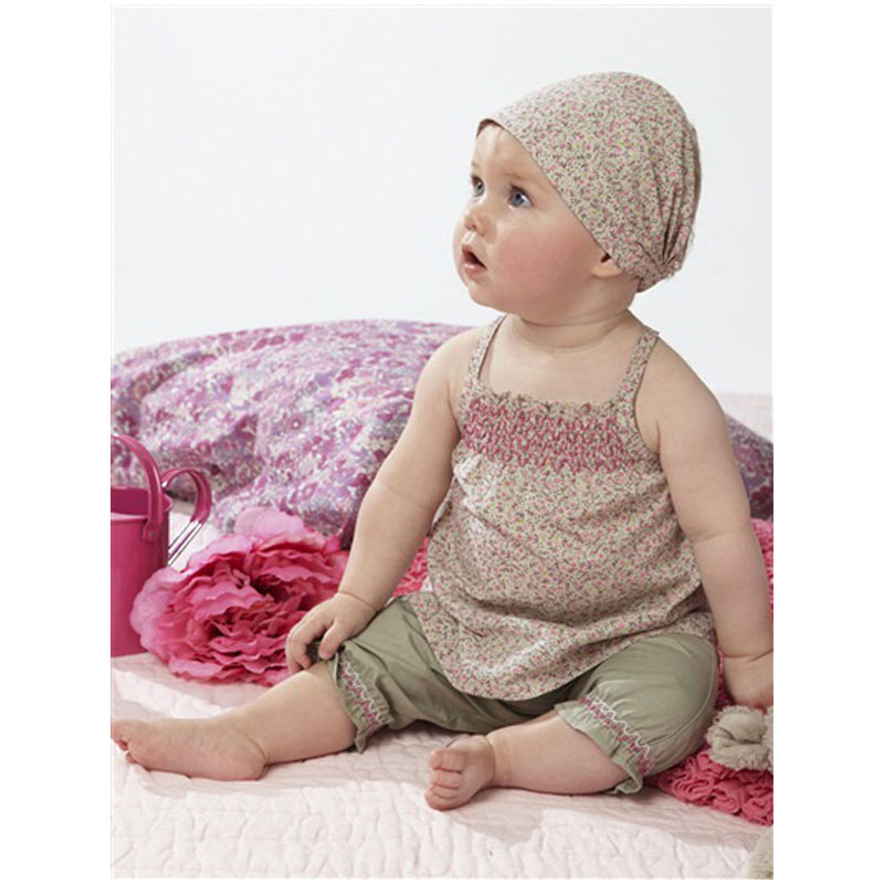 2015 Hot selling summer baby clothing set Baby wear tops