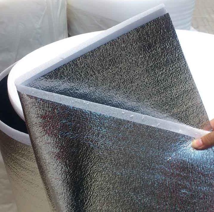 Гаджет  Light and soft 2mm thick housing insulation, aluminum foil composite fabric,moistureproof cushion,Shockproof None Строительство и Недвижимость