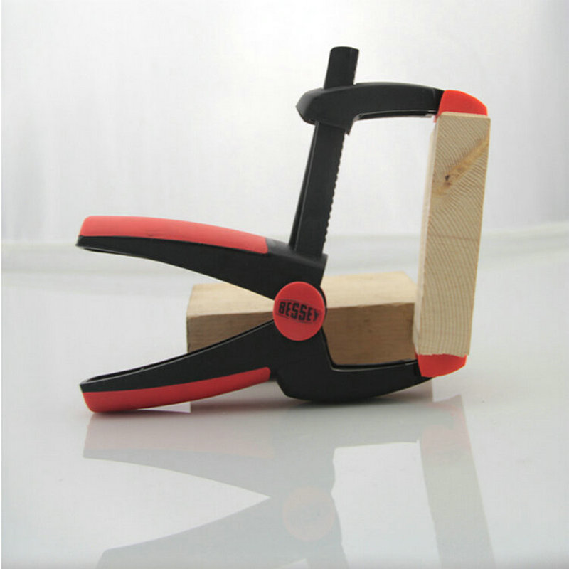 Multi-Purpose Plasic G Clamp + A Clamp + F Clamp Of PE Material Plastic Clamp For Woodworking With Two-Tone Color Movable Tips