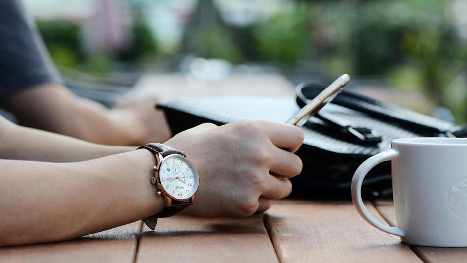 MEGIR Мужчины Хронограф Водонепроницаемый Кварцевые Военные Натуральная Кожа Повседневная Часы Многофункциональные Цифровые Часы Relógio Masculino