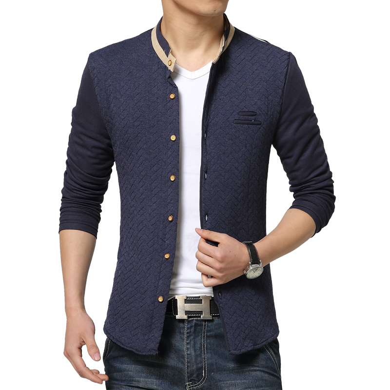 Men Coat 2015 New Autumn Men's Casual Jackets Fashion ...