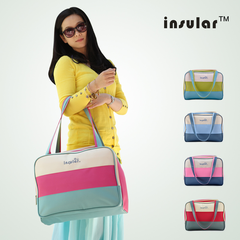 Free shipping Brand New design baby diaper bags for mom baby travel nappy handbags Bebe organizer stroller bag for maternity(China (Mainland))