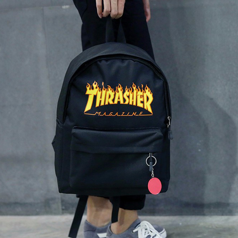 Fashion Thrasher Backpack Oxford Unisex School Bag 2017 Skateboard Travel Shoulder Bags Brand Quality School Backpack BME0119-5(China (Mainland))