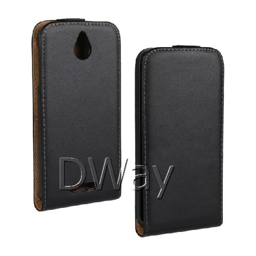New Grip UP And Down Genuine Leather Flip Cover Case For HTC Desire 510 Handbag Phone Case Shell Free Shipping(China (Mainland))