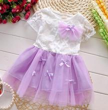 Summer Baby Girl Dress 2016 New Princess Sofia Dress Baby Girls Party for Toddler Girl Dresses Clothing tutu Kids Clothes(China (Mainland))