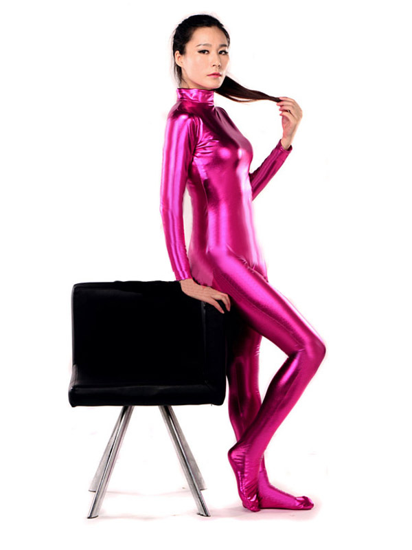 Sexy Unisex SHiny Metallic Catsuit