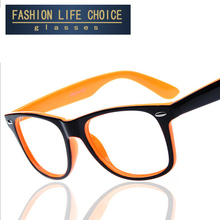 2015 fashion big glasses frame men and women retro vintage decorative frames without lenses round glass frame wholesale