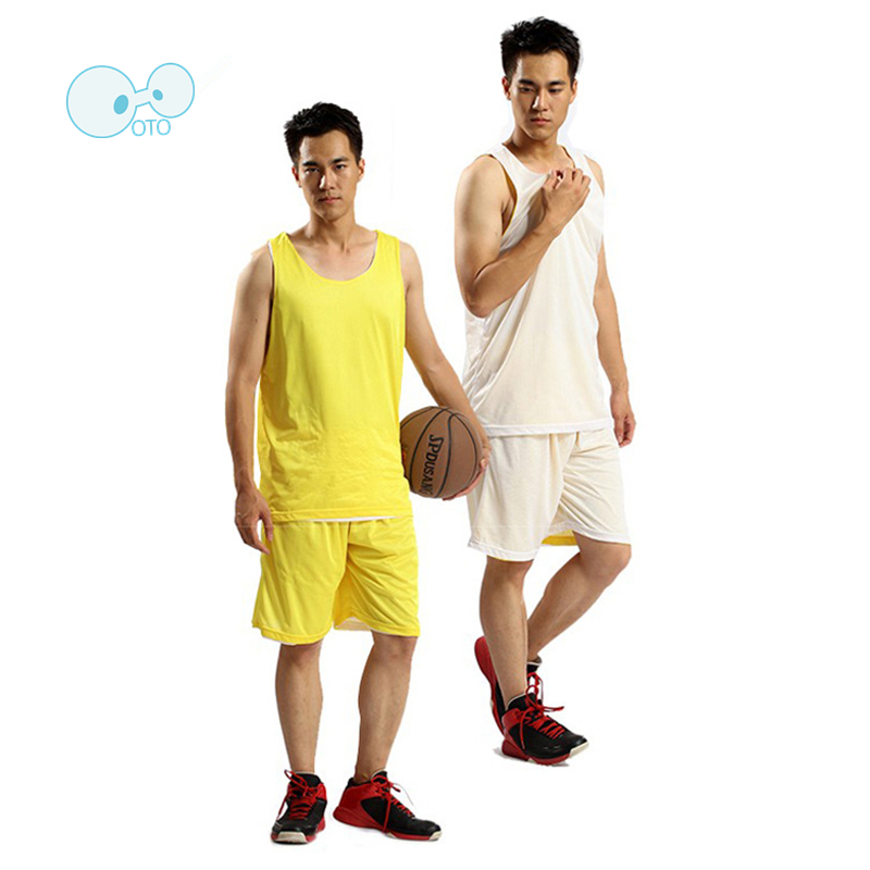 Double-Sides Wearing 1 Set=4 Sets Basketball Jerseys 2016 sleeveless Breathable Quick Drying Throwback Sports Tracksuit Kits(China (Mainland))