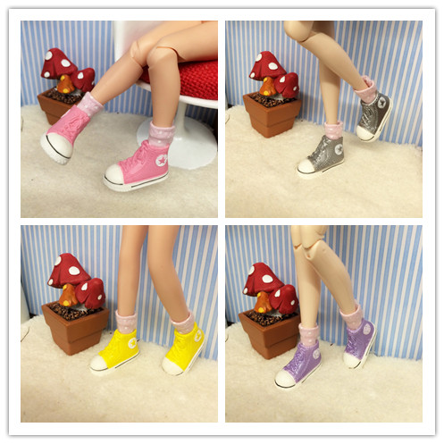 D0417 New DIY 12 inch 30cm Blythe Doll Accessories children gift shoes 1 pair(China (Mainland))