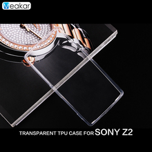 Buy Transparent Soft TPU Silicon 5.2for Sony Xperia Z2 Case Sony Xperia Z2 D6503 D6502 Cell Phone back Cover Case for $2.17 in AliExpress store