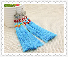 China classical vintage Original ethnic national dangle earrings exaggerated stage party tassle earrings jewelry free shipping(China (Mainland))