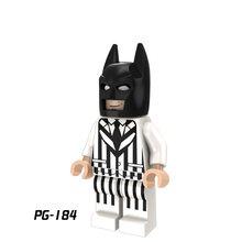 LEGOing Супер Герои серии Фигурки Бэтмена экшн модель строительные блоки игрушки для детей(China)