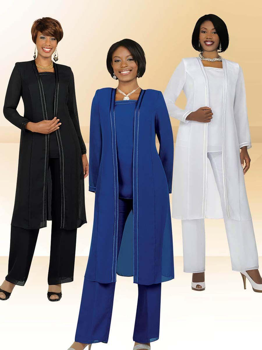 2014 lastest women 39 s 3 piece plus size chiffon mother of for Dress pant suits for weddings plus size
