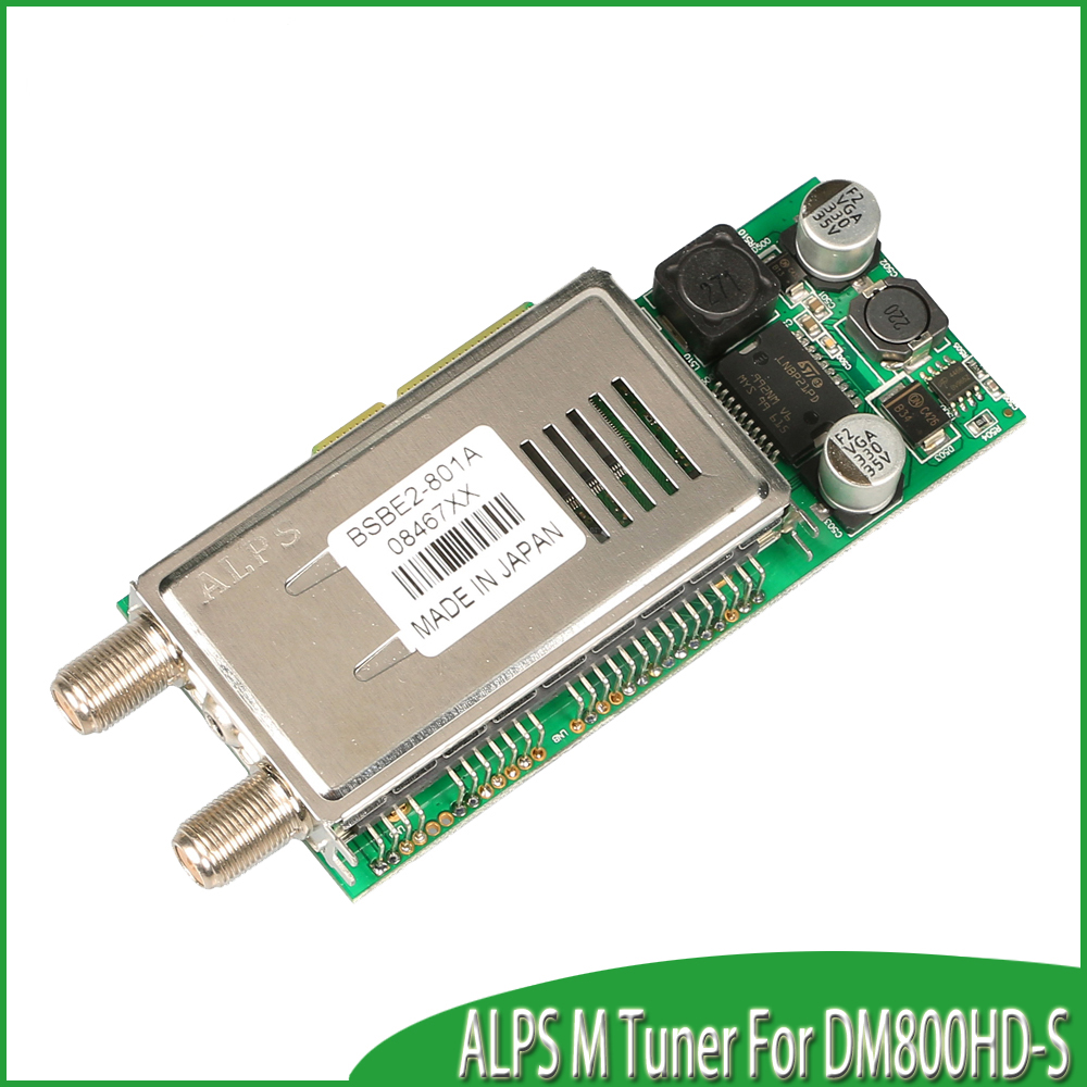 Alps M tuner for dream box 800hd and dream box 800hd se free shipping(China (Mainland))