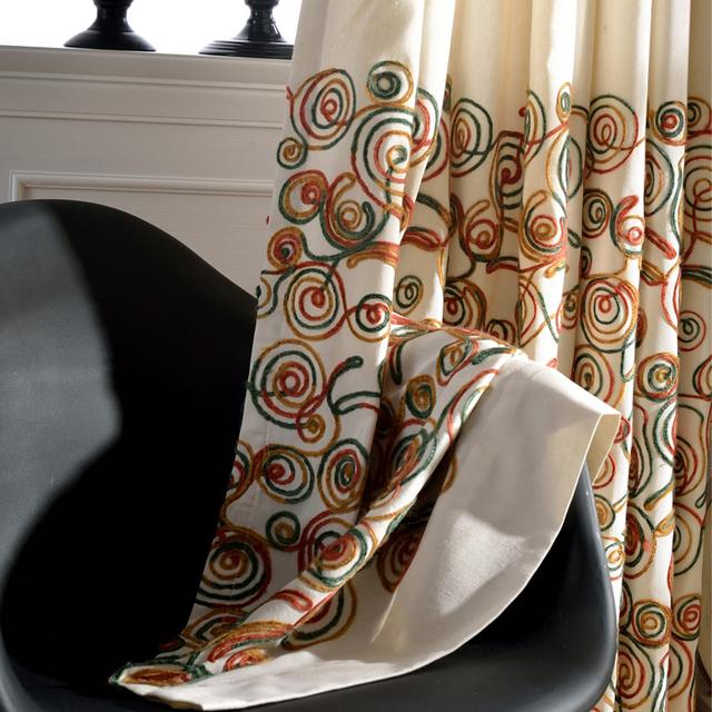 Vorhange Fur Wohnzimmer : Wolle stickerei handwerk bestickt gardinen eine einzigartige