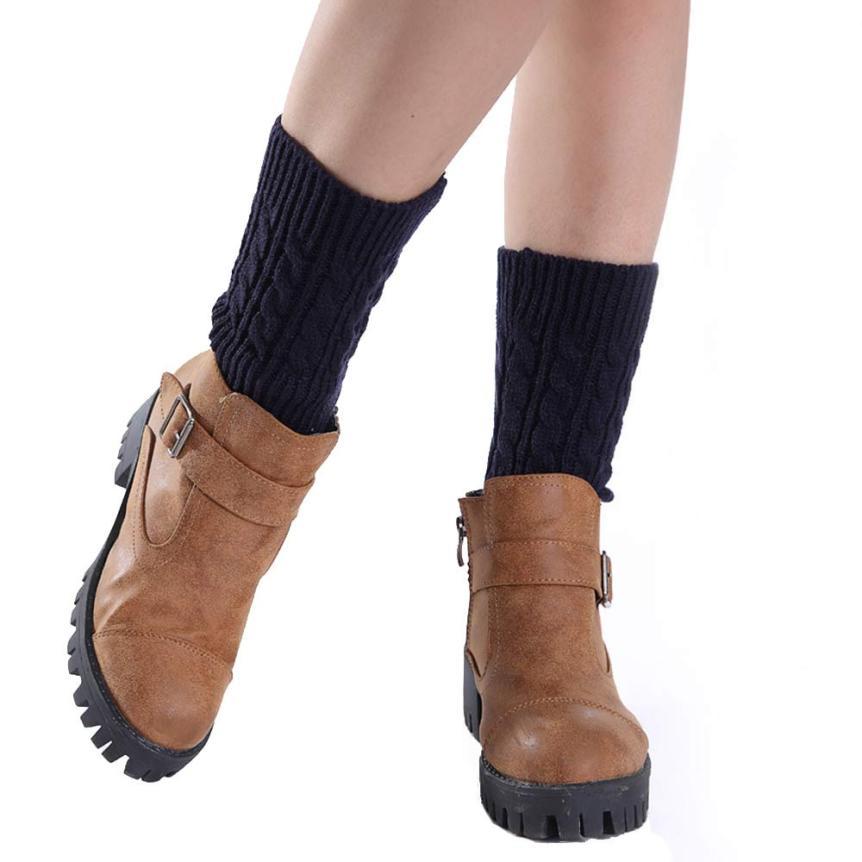 Korean Fashion Style 20cm Winter leg warmers for women,Girls Short Socks Knitting Leg Warmers Boot Cover Plus size Free Shipping(China (Mainland))