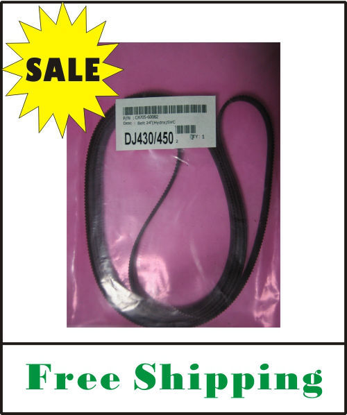(free shipping) C4705-60082 for DesignJet 430/450 Carriage Belt (24inch) OEM replacement new Quality guarantee