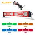 Auxmart DIY Covers 5D 22 200w 5D Spot Flood Combo Beam 12V LED Light Bar DRL