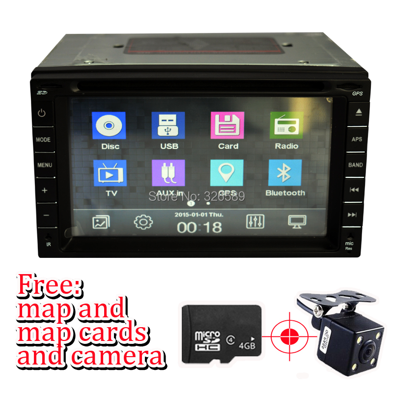 100% New universal Car Radio Double 2 din DVD Player GPS Navigation dash PC Stereo Head Unit video+Free Map+Free Cad! - Shenzhen Huihang Electronic Technology Co., Ltd. store