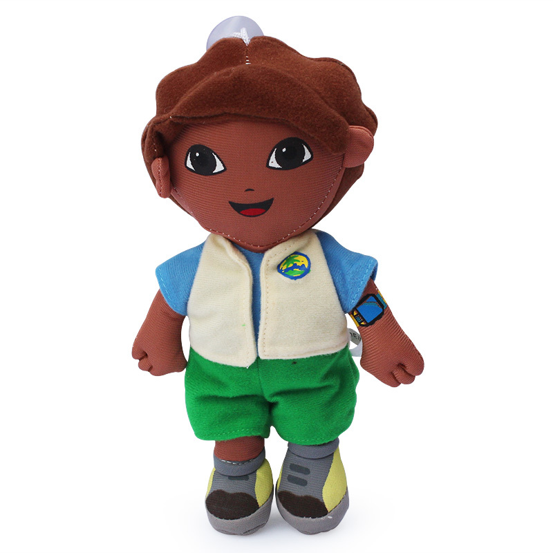 EMS 50pcs/lot Dora the Explorer Go Diego Go Plush Dolls Toy For kids gifts Free shipping(China (Mainland))