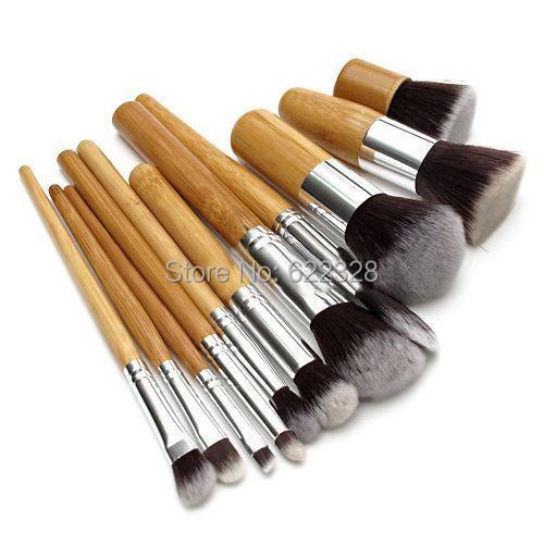 Кисти для макияжа Makeup brush sets 11Pcs Eyeshadow professional eyeshadow brush makeup brush set pinceau fond de teint 12 pcs high quality makeup tools kit violet pincel sombra
