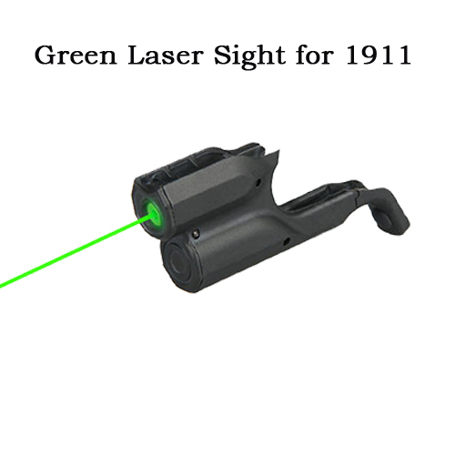 New Military Tactical Green Laser Pointer Green Laser Sight With Switch For 1911 Airsoft Gun Hunting CL20-0041(China (Mainland))