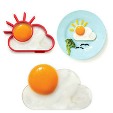 Breakfast Creative Silicone Cute Sun Cloud Egg Mold Fried Egg Mold Pancake Mold Kids Diy cooking tools Worldwide Store(China (Mainland))