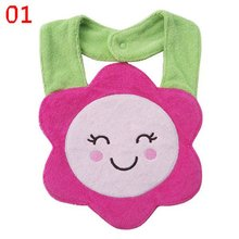 Kids Girl Boy Baby Bibs Burp Cloths Lunch Bibs Animals Cotton Saliva Towel waterproof Infant Bibs