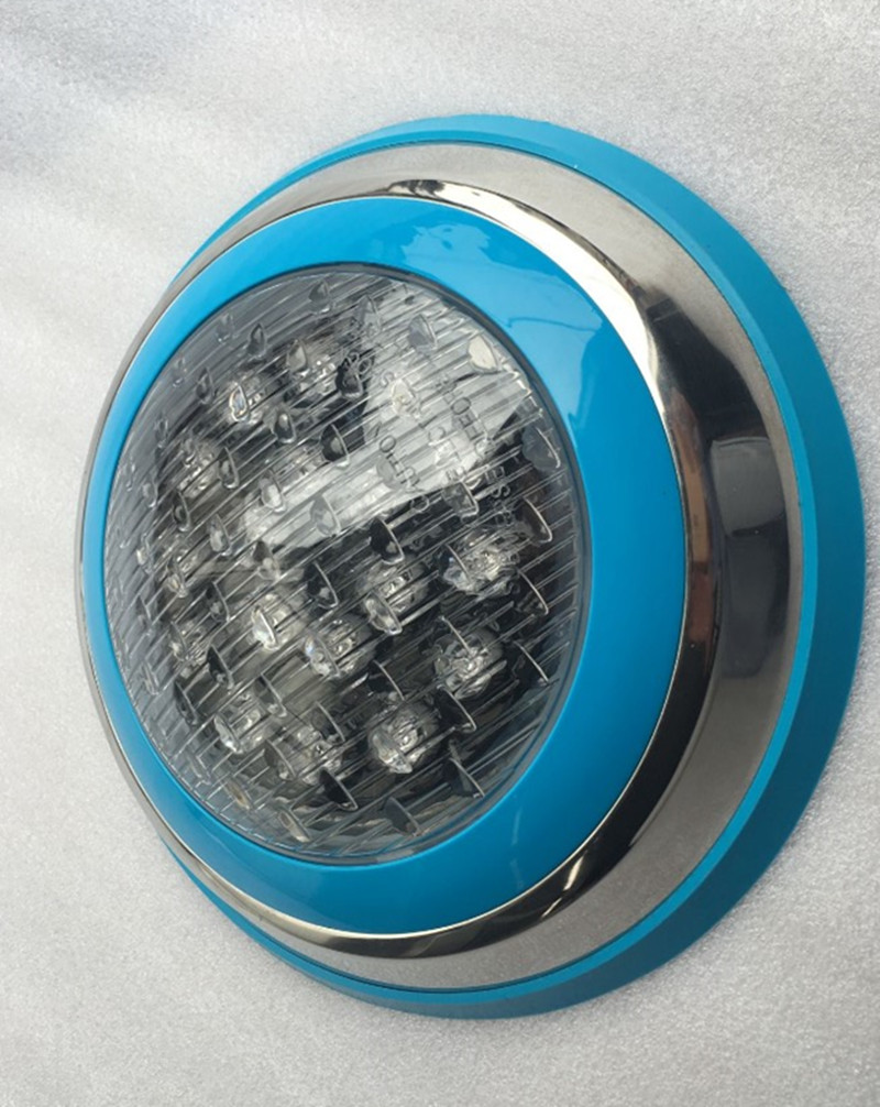 Stainless steel wall-mountable swimming pool LED lights 12v or 24v IP68 6PCS(China (Mainland))