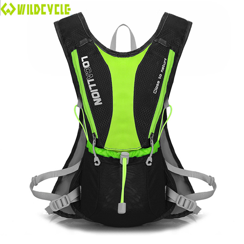 WILDCYCLE Bike Hydration Backpack Mochila Ciclismo 5L Polyester Rainproof Ciclismo Bolso Outdoor Sport Camping Bicycle Bag(China (Mainland))