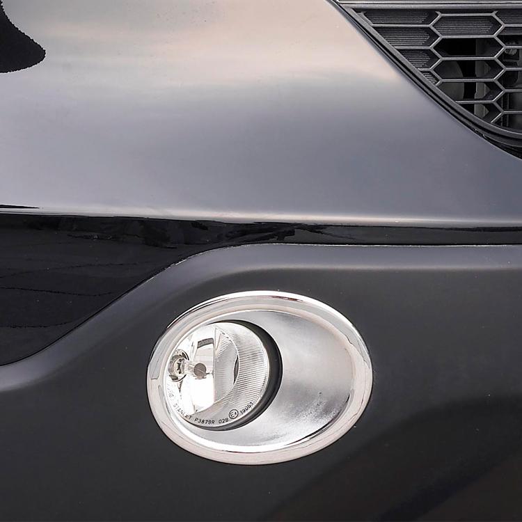 Honda CRV CR-V 2007 2008 2009 Pre-facelift ABS Cary Styling Chrome Front Fog Light Cover Trim