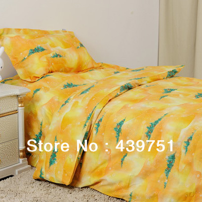 Christmas Bedding Set/ child 3piece set home textile bedding set bed sheets duvet cover christmas nightmare 1.5 meters(China (Mainland))