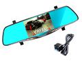 New Full HD 1080P Car Dvr Camera 5 Inch Rearview Mirror Digital Video Recorder Dual Lens