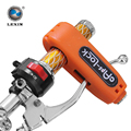 Newest 2015 CROC LOCK MOTORCYCLE SCOOTER HANDLEBAR THROTTLE GRIP LOCK SECURITY LOCK motorcycle accessories Fits Most