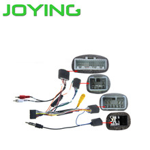 Wiring Harnedd Car Audio Stereo Radio plug lead wire harness For Toyota Hilux loom connector adaptor Special for Joying