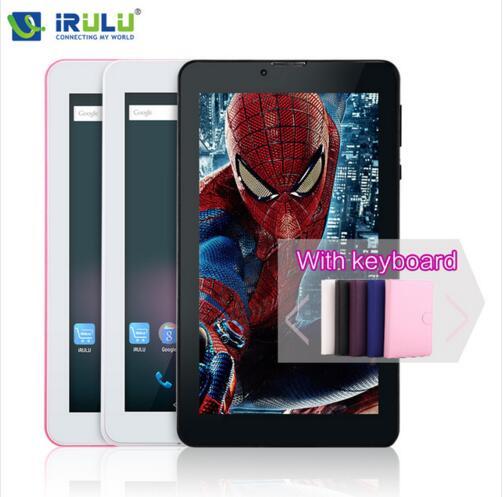 iRULU X2 7'' Phablet Android 5.1 Phone Call tablet 2G/3G Dual Core MTK8312 RAM 1GB Google Play GPS WiFi 1024*600 2800mAH hot(China (Mainland))