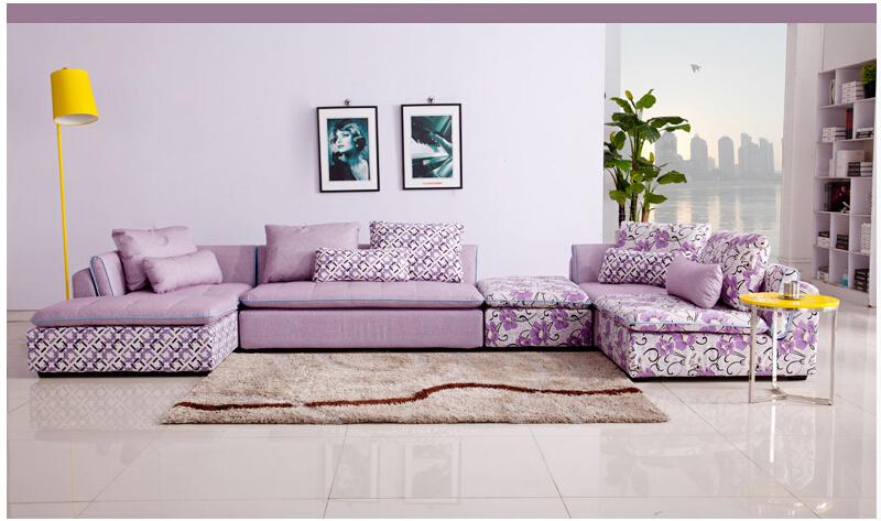 Popular modern sofa set wooden buy cheap modern sofa set for Fundas para muebles de sala modernos